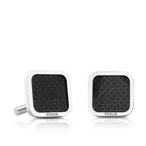 Stainless Steel TOUS Acero Cufflinks