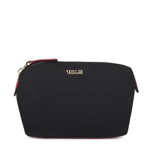 Large black Shelby Toiletry bag