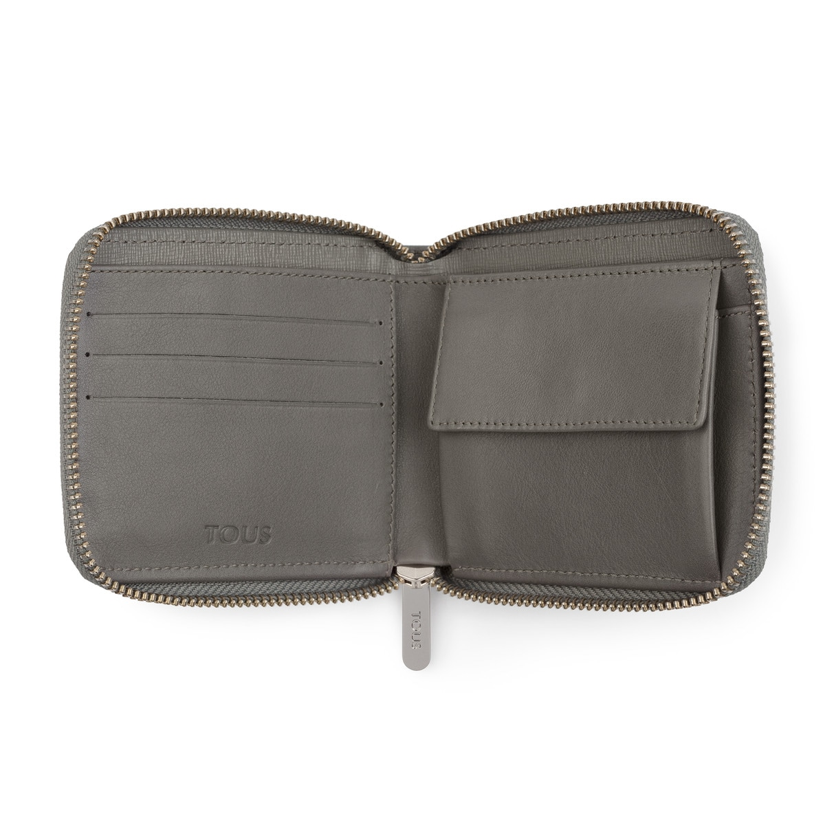 Cartera New Berlin de Pell de color gris