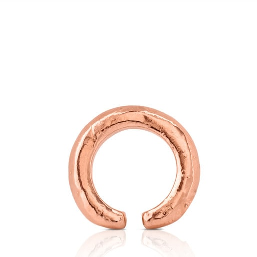 Rose Vermeil Silver Duna Tube Ring