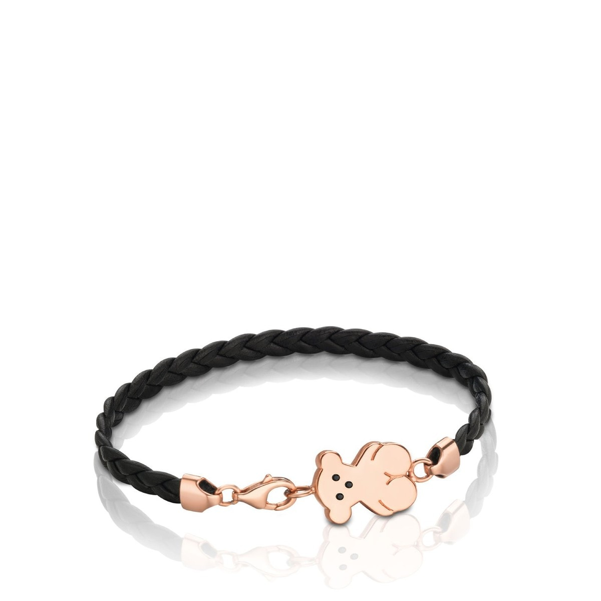 Rose Vermeil Silver Sweet Dolls Bracelet with Spinel