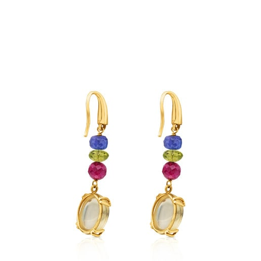 ATELIER Color Earrings in Gold with Gemstones