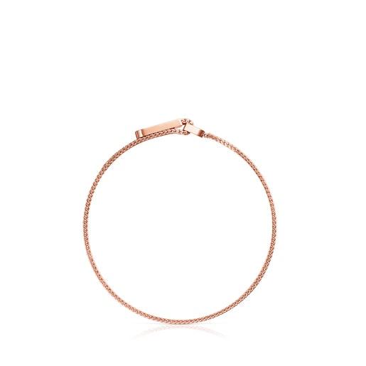 Bracelet Mesh en Acier IP rosé