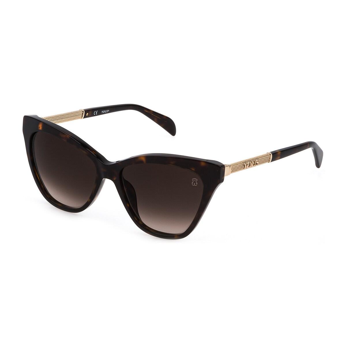 Óculos de sol Mesh na cor castanha
