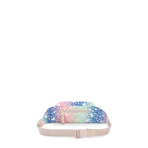 Multicolored/sand-colored Kaos Mini Sport Belt bag