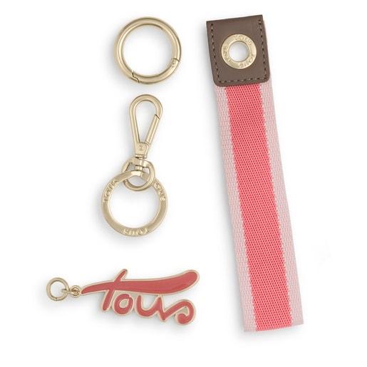 Llavero Ribbon rosa