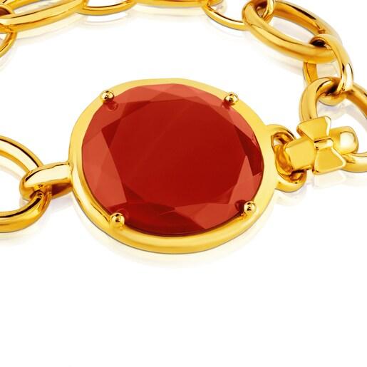 Vermeil Silver Dinah Round Bracelet