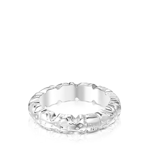 Silver Straight XL Ring