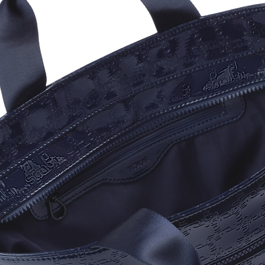 Large navy blue TOUS Urban Tote bag