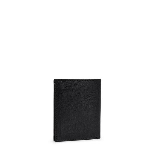 Kleine Brieftasche New Berlin aus Leder in Schwarz
