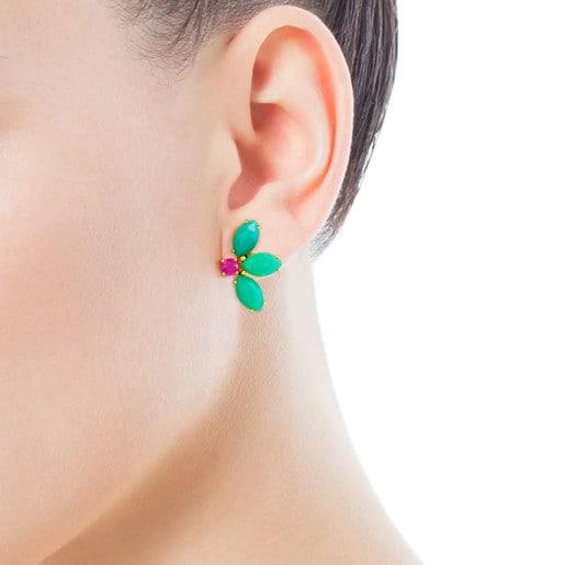 Gold Beach Earrings