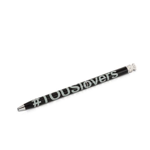 Bolígrafo lacado negro TOUS Lovers