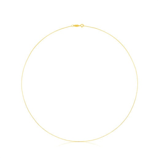 Gargantilla TOUS Chain de oro fina, 45cm.