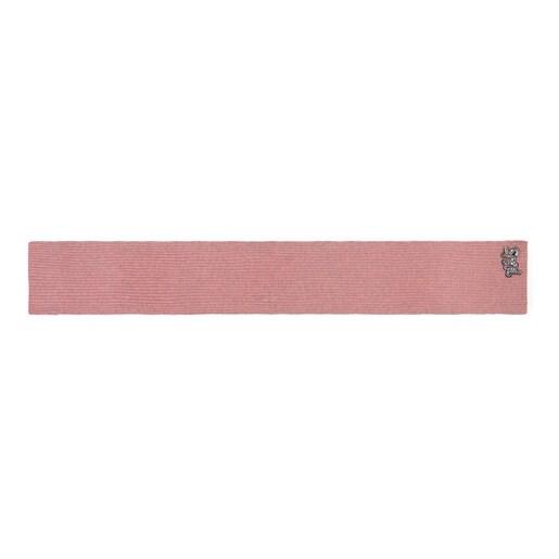 Pink Cuarzo Scarf