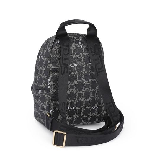 Small black Tous Logogram backpack