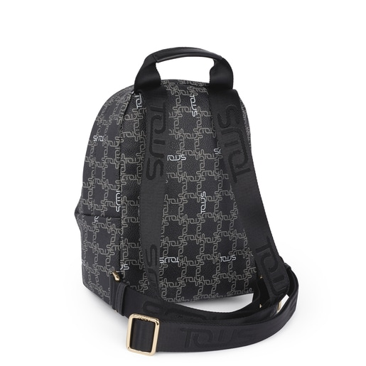 Small black Tous Logogram backpack