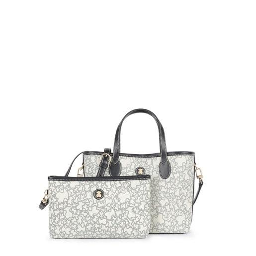 Small beige Kaos Mini Tote bag