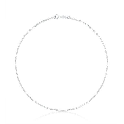 Cadena TOUS Chain de plata con anillas redondas, 40cm.