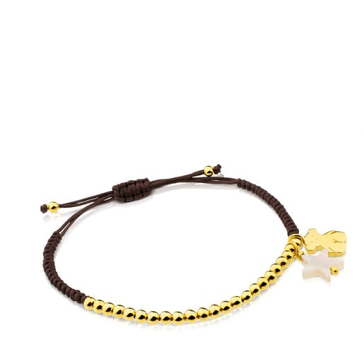 Bracelet TOUS Basics en Vermeil