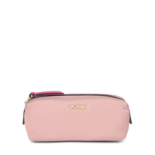 Mittelgroße Kosmetiktasche Shelby in Pink