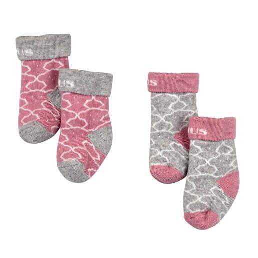 Conjunto de peúgas Sweet Socks 1303 Rosa