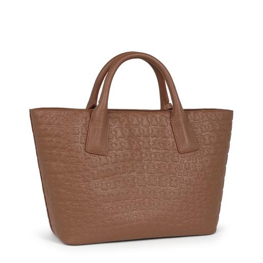 Brown Leather Sherton Tote bag