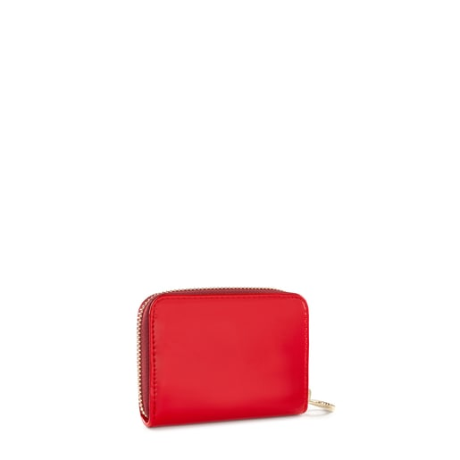 Medium Red Dorp Change purse
