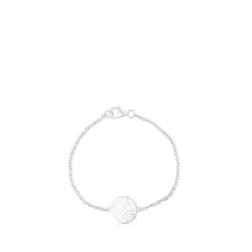 Silver TS Bracelet