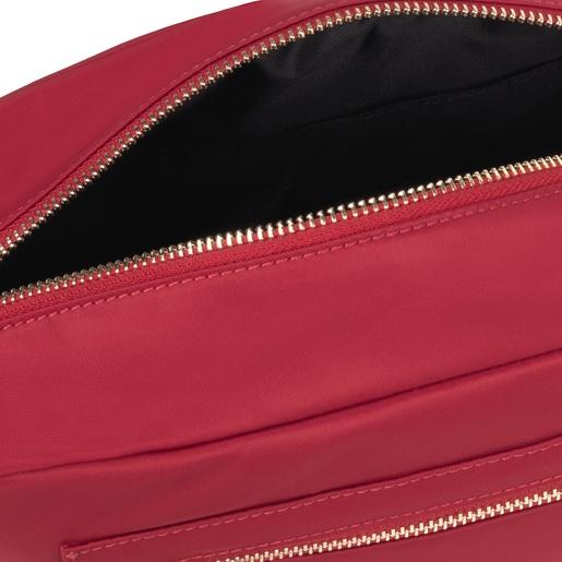 Medium red Shelby Crossbody bag