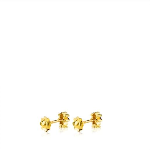 Aretes TOUS Basics de Oro