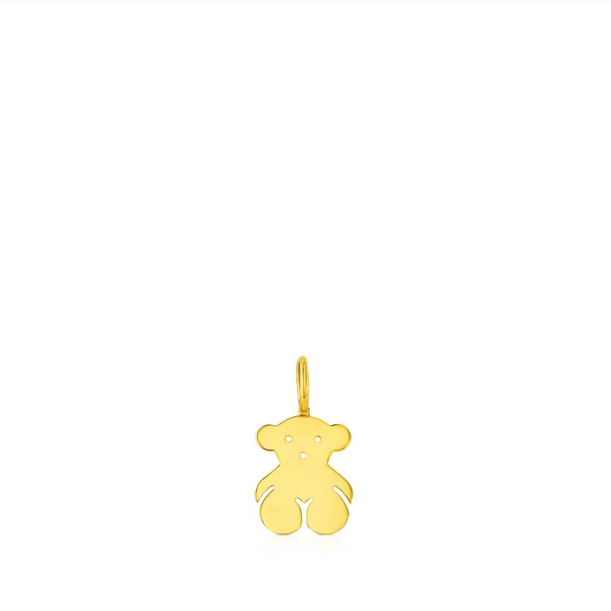c2a664b880b7 Colgante de oro Sweet Dolls oso con anilla