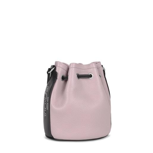 Bucket bag TOUS Empire em Pele lilás
