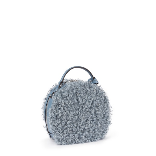 Small blue Dulzena Ritzo crossbody bag