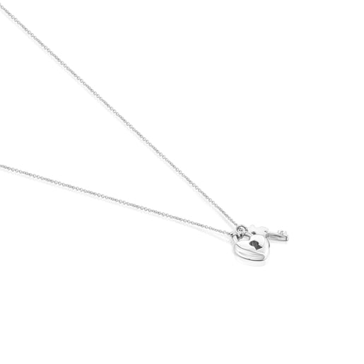 Silver San Valentín Necklace - Online Exclusive