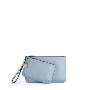 Blue Hold Clutch bag