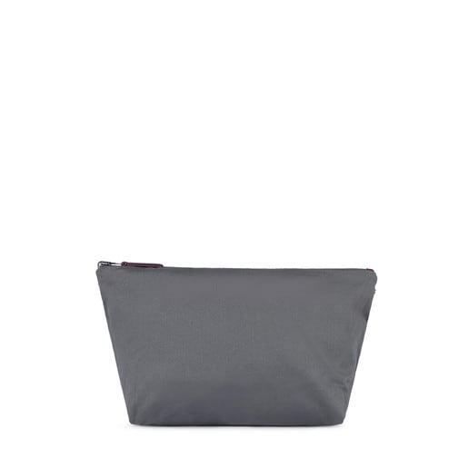 Bolsa pequeña Kaos Shock Reversible burdeos-gris