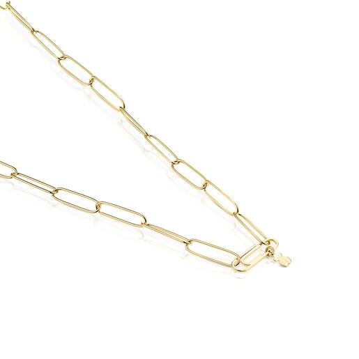 Silver Vermeil TOUS Good Vibes Necklace