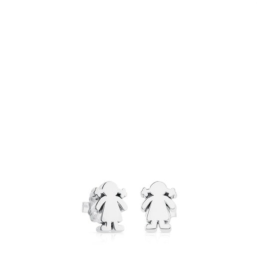 Silver Sweet Dolls girl Earrings