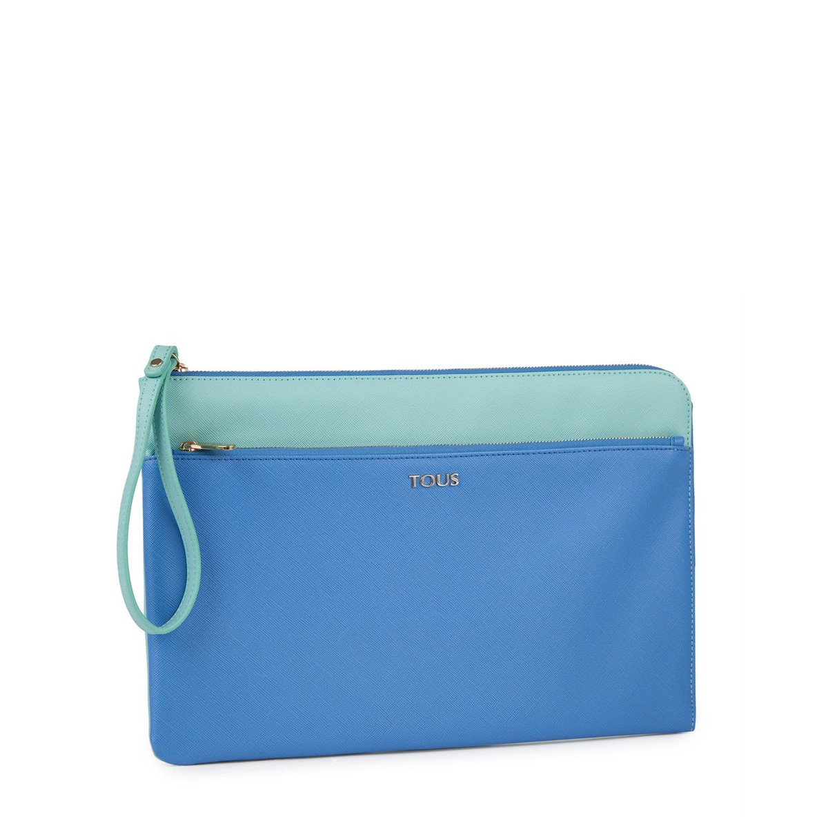 Clutch-Tasche Essence in Blau