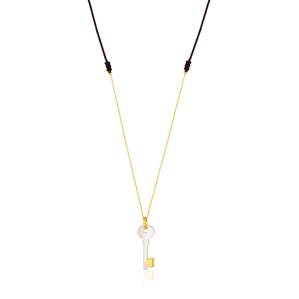 06623e2d8 Gold Valentine's Day Necklace with Mother of Pearl - Tous Site US