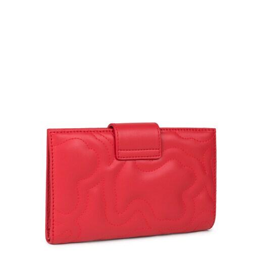 Billetera grande Kaos Dream rojo