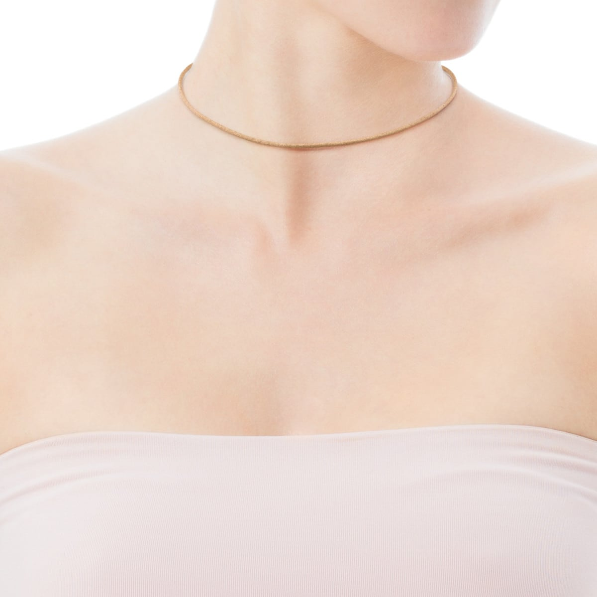 Rose Vermeil Silver TOUS Chokers Necklace