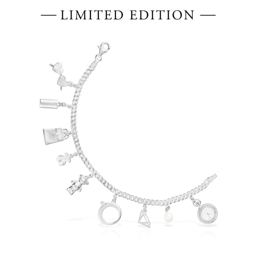 Silver Since 1920 Bracelet with Pearl and Topaz – Limited Edition