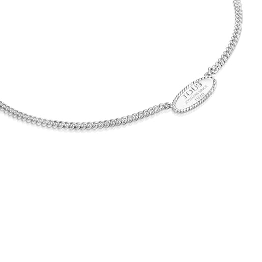 Silver TOUS Minne Necklace