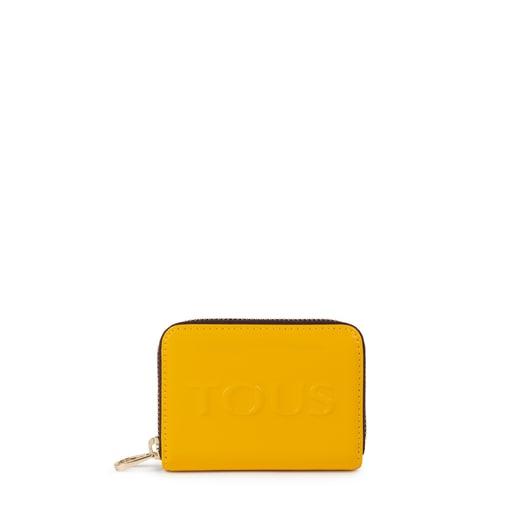 Monedero mediano Dorp amarillo