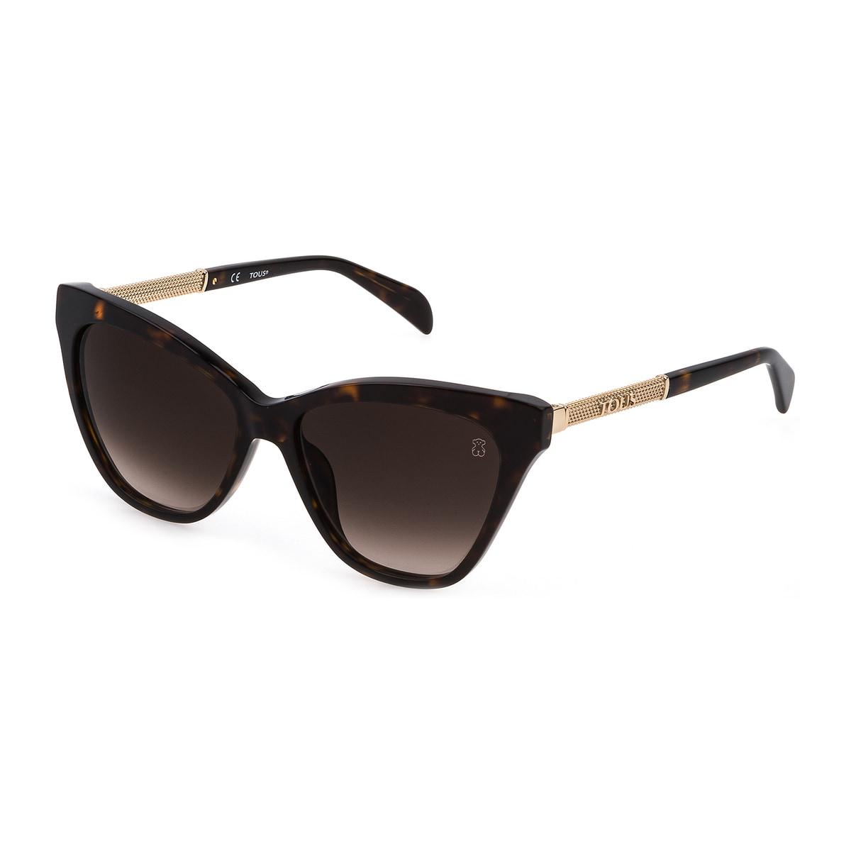 Brown Mesh Sunglasses