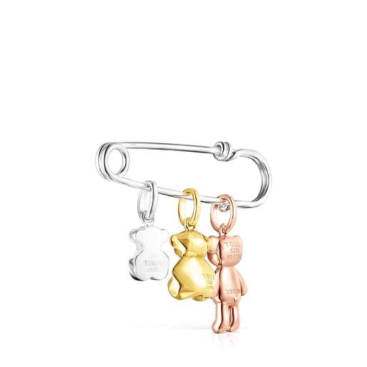 L'Ensemble pendentifs avec Bélière pince à nourrice Teddy Bear, édition limitée