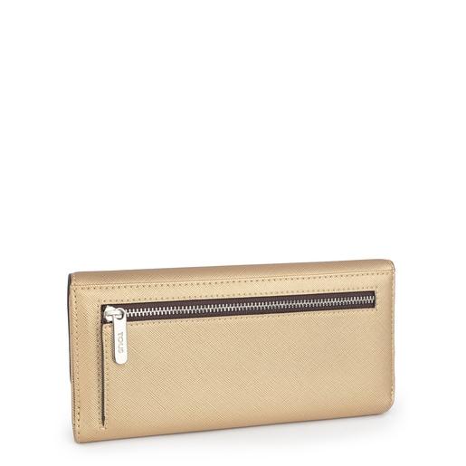 Gold medium Hold wallet