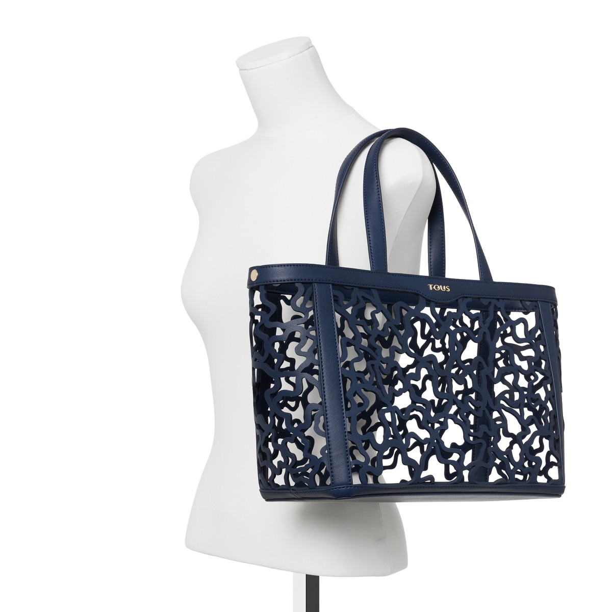 f8b08b9c3d Τσάντα μεσαίου μεγέθους Kaos Shock σε μπλε σκούρο χρώμα - Tous Site ...