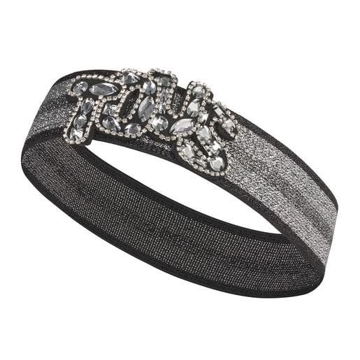 TOUS elastische Tiara in Silber